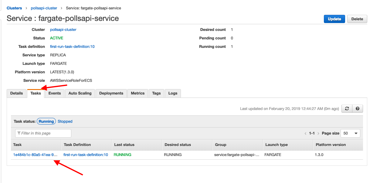 Deploying Django in AWS Fargate