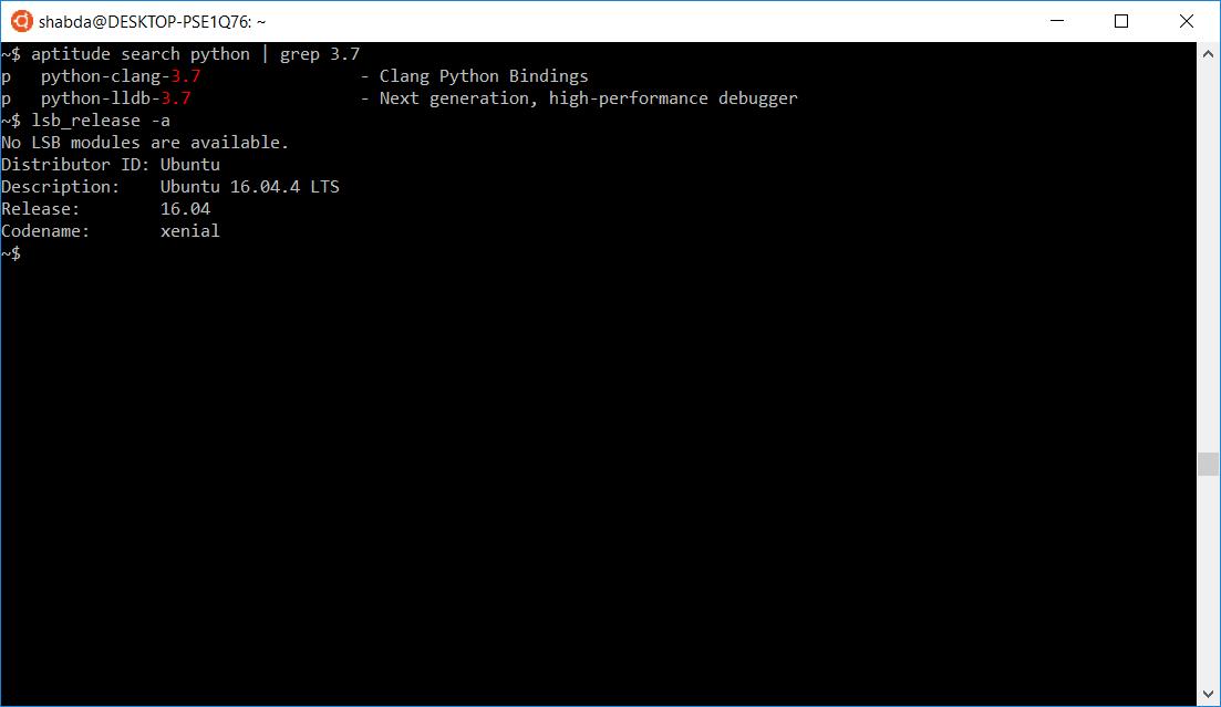 Python and Django development on Windows with WSL